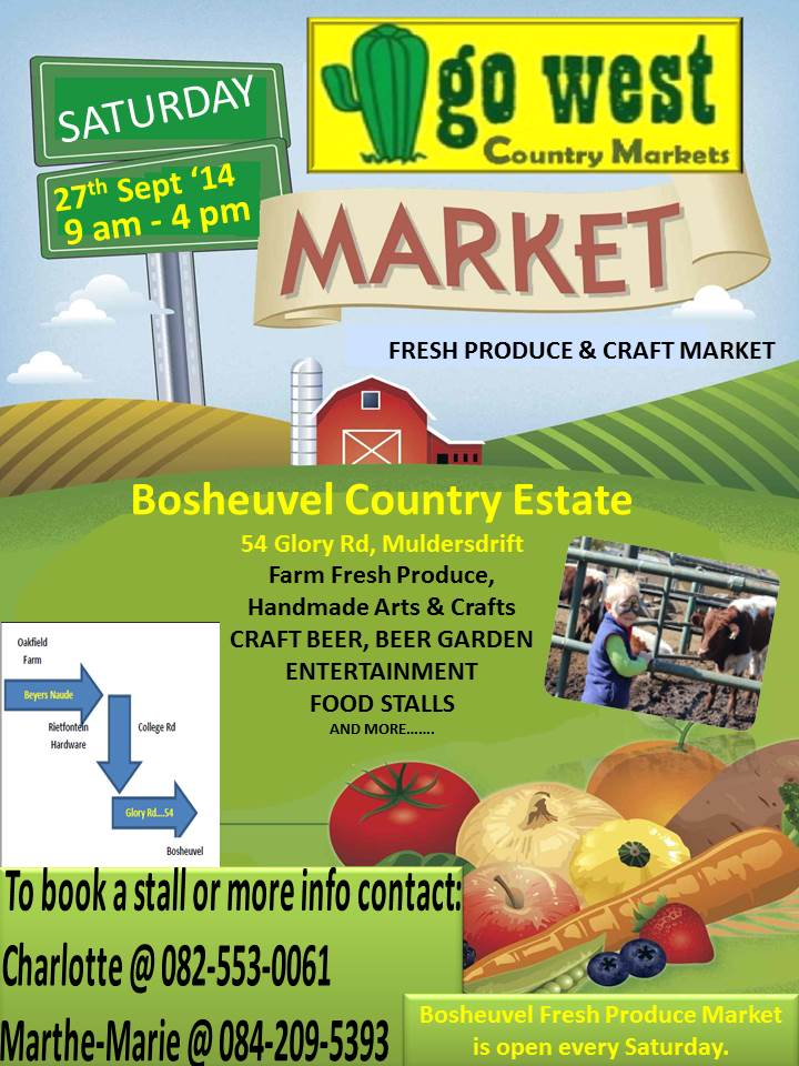 Go West Country Market @ Bosheuvel Country Estate