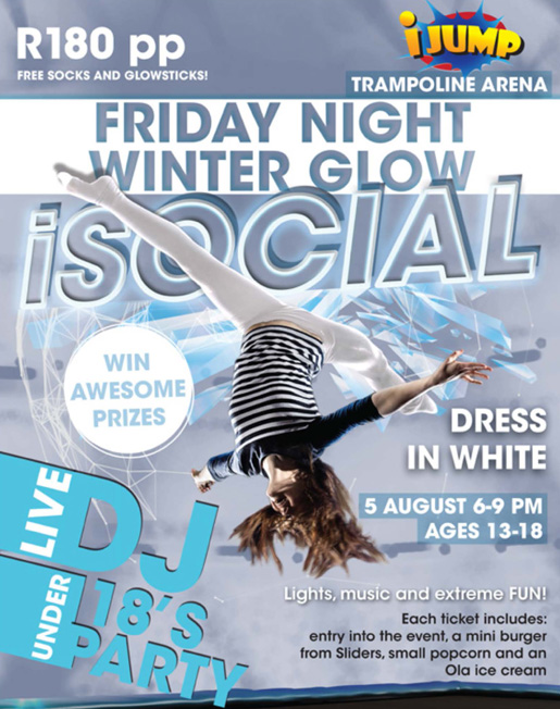 iJump Friday Night Winter Glow @ iJump, Clearwater Crossing | Clearwater | Florida | United States